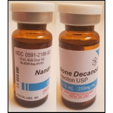 Nandrolone Decanoate - 250mg/ml 10ml/vial - PIVOTAL