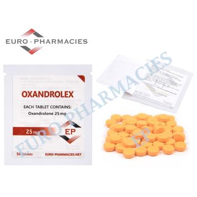 Oxandrolex 25 (Anavar) - 25mg/tab EP