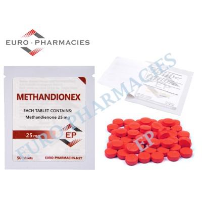 Methandionex (Dianabol) - 25mg/tab EP - USA