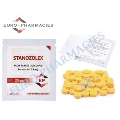 Stanozolex (Winstrol) - 25mg/tab EP - USA