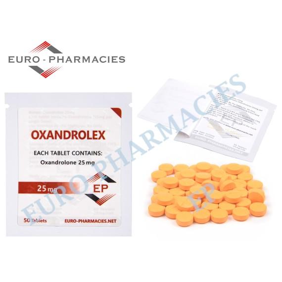 Oxandrolex (Anavar) - 25mg/tab EP - USA